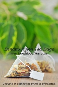 Bendito nylon tea bags